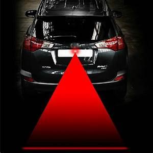 Car Laser Fog Light Rear Anti Collision Driving Safety