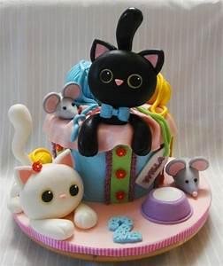 Cat cake Cake by Nadia CakesDecor Cake Cake Cake Pinterest Tartas, Gatos y Pasteles gato