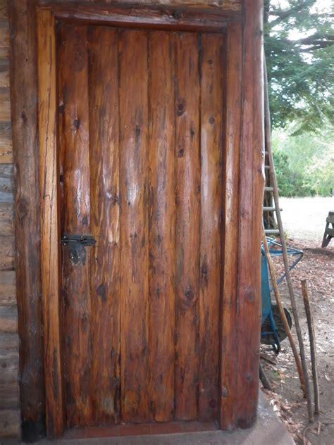 rustico patagonico puertas