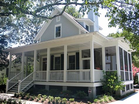 sugarberry cottage  extended porch cottage ideas