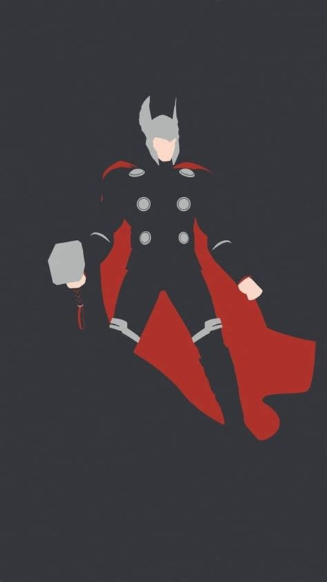 thor minimalism hd ft wallpaper