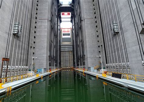 Biggest Boat Lift In The World by The World S Largest Elevator Could Lift Giant Ships