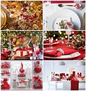 Table De Noel Traditionnelle : comment d corer sa table de no l ~ Melissatoandfro.com Idées de Décoration