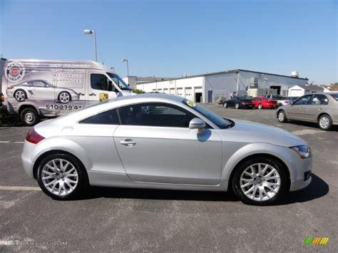 2008 Audi Tt Quattro by Silver Metallic 2008 Audi Tt 3 2 Quattro Coupe