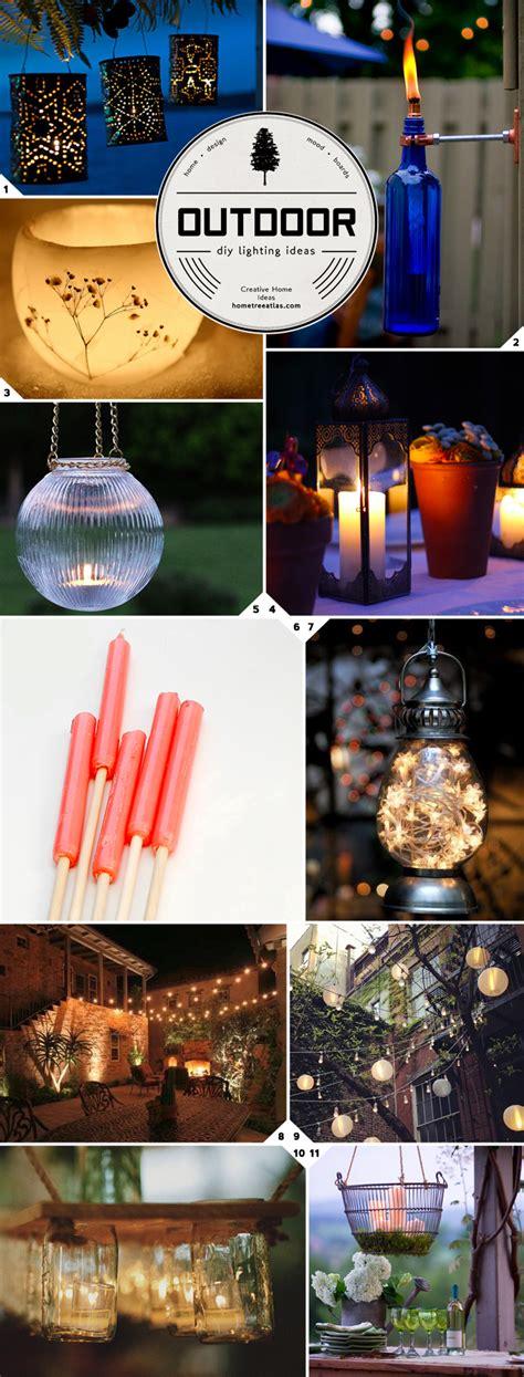 diy outdoor lighting ideas getting crafty diy outdoor lighting ideas home tree atlas