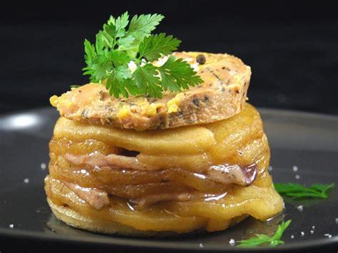 canapé au foie gras tatin de magret de canard au foie gras recette de tatin