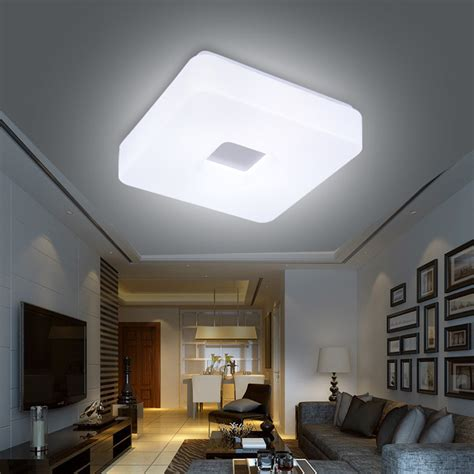 modern led flush mount surface mounted square shape led