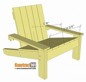 Simple Adirondack Chair Plans - DIY Step-By-Step Project
