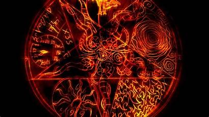 Pentagram Wiccan Pizza Wallpapers Wallpaperplay