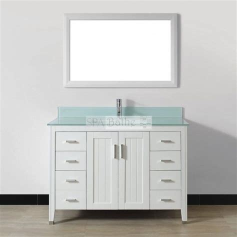 Lowes Canada Bathroom Vanity Cabinets by Spa Bathe Ja48 Jaq Series Bathroom Vanity Lowe S Canada
