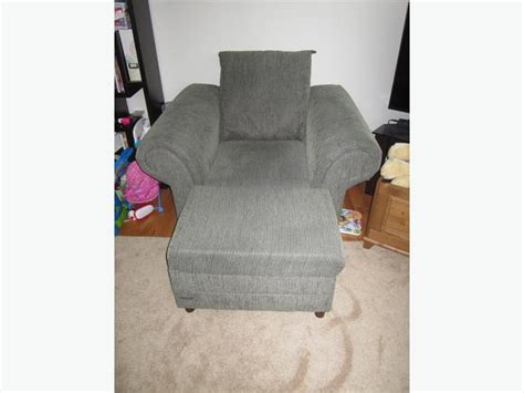 chair and a half plus ottoman west shore langford colwood