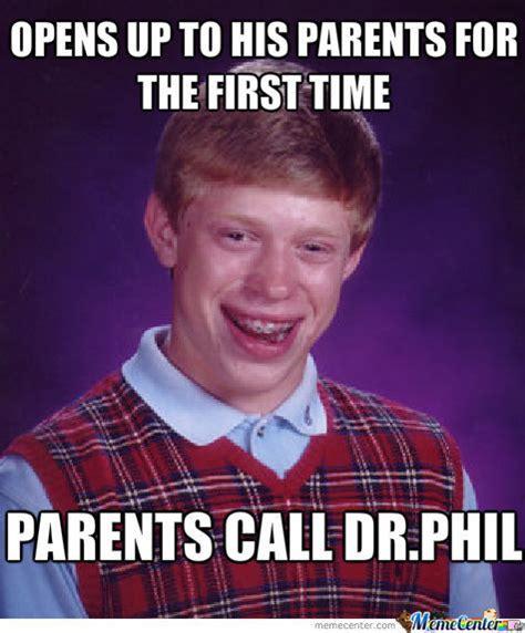 Phil Meme - dr phil bad luck brian by schizophrenicjaguar meme center