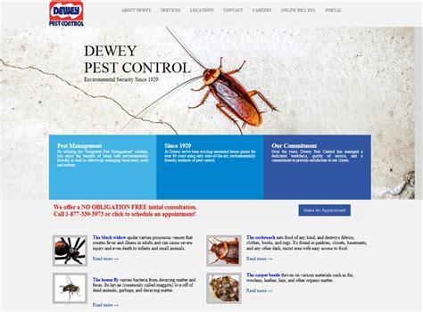 dewey pest control  site   branches ganz media