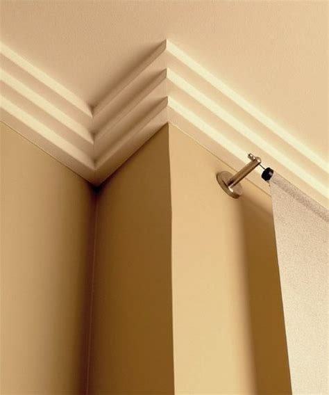 modern crown molding for kitchen cabinets paint colors love this and cabinets on pinterest