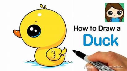 Duck Draw Easy Drawing Super Drawings Cartoon