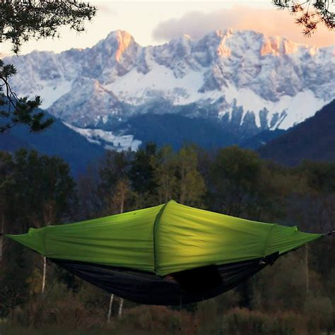 All In One Hammock by Flying Tent All In One Tent Hammock 187 Petagadget