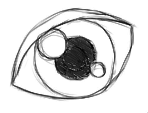 disegni di occhi facili gimp tutorial creare un occhio con la tavoletta