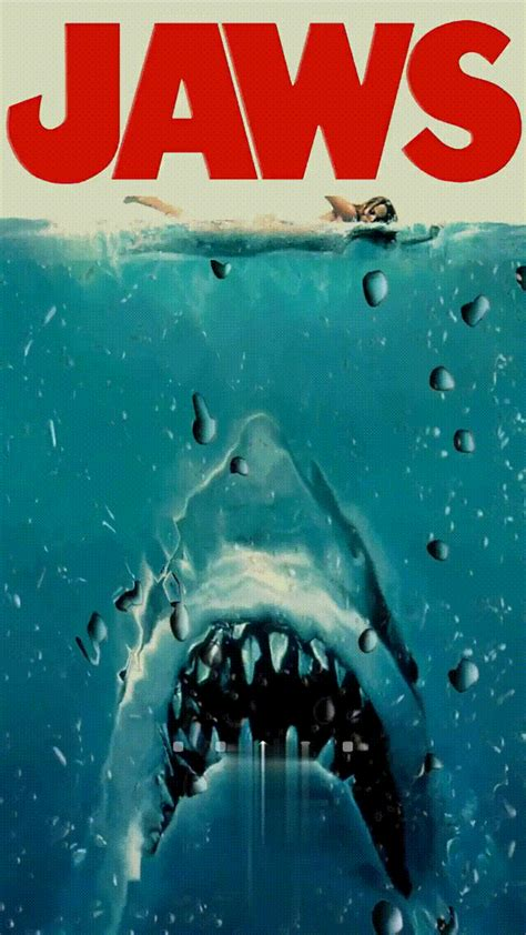 Animated Shark Wallpaper - jonny rebb jaws gif wallpaper