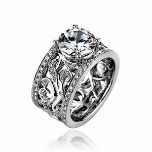 Collection Womens Wide Wedding Bands