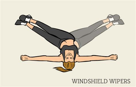 floor windshield wipers exercise the workout weight loss burning circuit