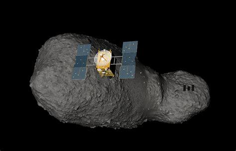 hayabusa approaching asteroid itokawa