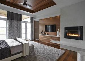 Master Bedroom With Fireplace | www.imgkid.com - The Image ...