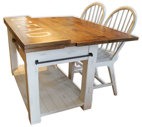 kitchen island with fold out table fold up kitchen table image collections table design ideas 9436