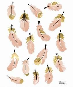 stickers deco plumes roses chambre l pinterest With affiche chambre bébé avec bouquet de fleurs Á télécharger gratuitement
