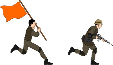 Soldier Clipart Clipart Soldiers Charging