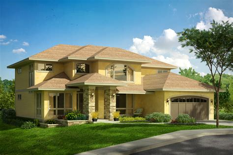 Mediterranean House Plans  Summerdale 31013 Associated