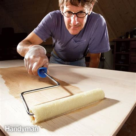 tips for using water based varnish the family handyman