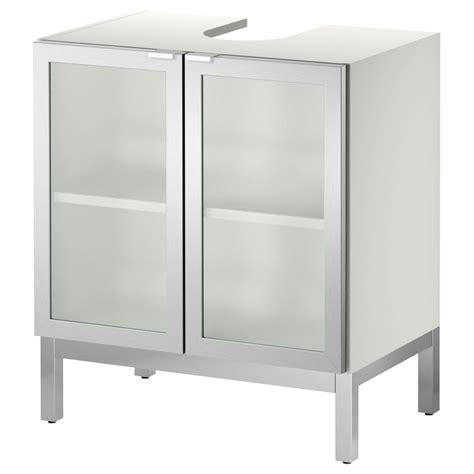 narrow depth cabinet lillången sink base cabinet with 2 door aluminum ikea