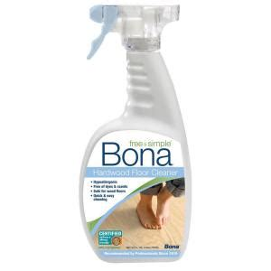 Bona Hardwood Floor Cleaner Home Depot by Bona 32 Oz Free And Simple Hardwood Cleaner Wm76005101