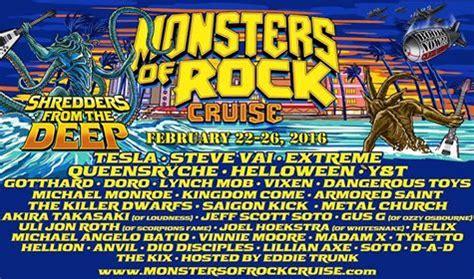 monsters rock cruise days miami florida