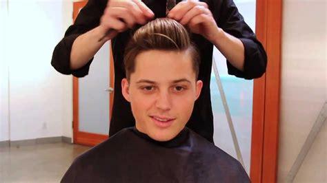 mens haircut tutorial  inspired haircut