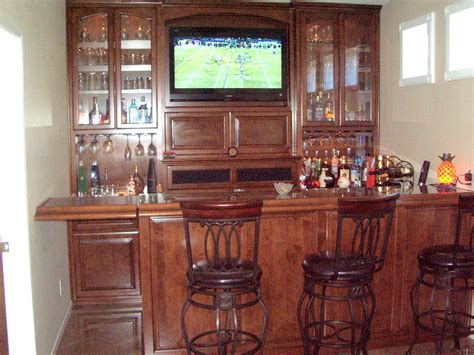 Custom Bar Cabinets by Get A Custom Home Bar And Built In Wine Storage Cabinet
