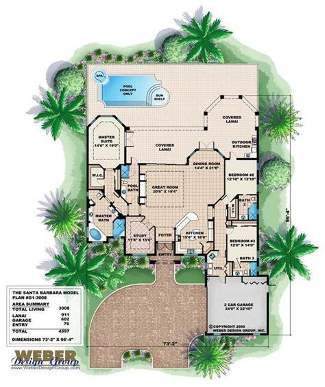 color room santa barbara santa barbara tuscan floor plan mediterranean floor plan