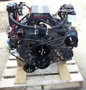Complete Drop In Engine Mercruiser 7 4l Gm 454 C I 330 Hp