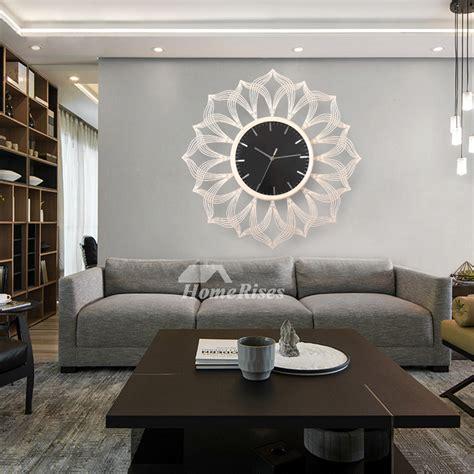 Decorative Living Room Wall Clocks by Oversized 24 Inch Wall Clock Living Room Decorative