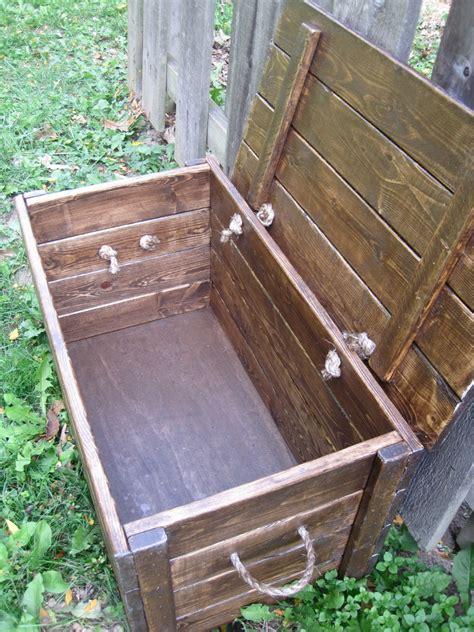 build  storage chest plans  woodworking