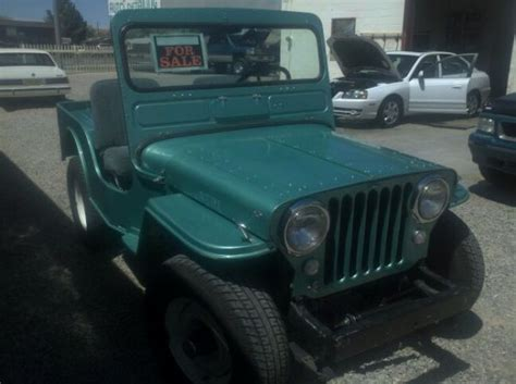 turquoise jeep cj 1947 cj 2a belen nm status unknown ewillys