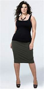 Skirts For Curvy Women With Plus Size Figures | Trendy Plus Size Womens Clothing | Dressed for ...
