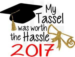 monogram graduation cap graduation saying quote my tassel was worth the