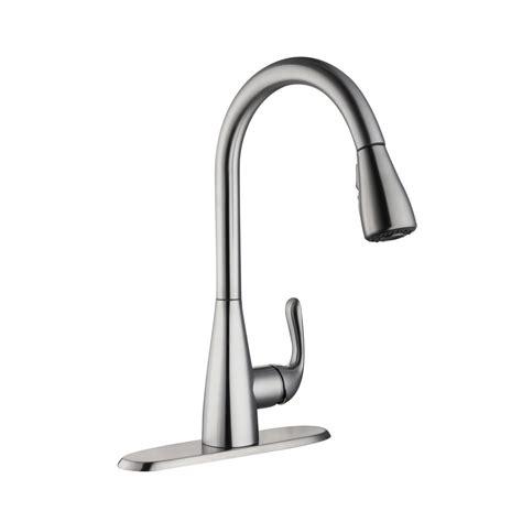 glacier bay pull kitchen faucet glacier bay carla single handle pull sprayer kitchen