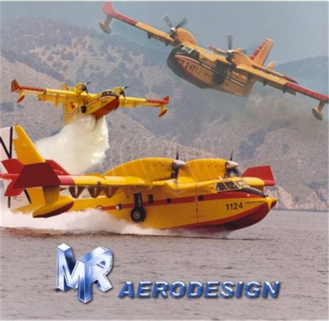 Cd Canadair Cl215 & Cl415  Aeromodelling  Products