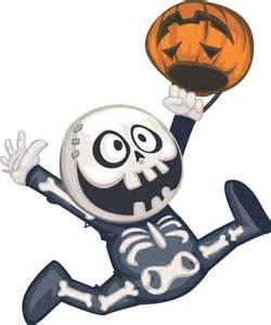Halloween Skeleton Clip Art Monster