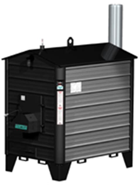 pro fab empyre  outdoor wood boilerfurnace