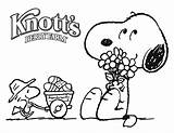 Snoopy Coloring Printable sketch template