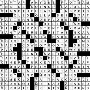 Greek Bread Crossword Clue