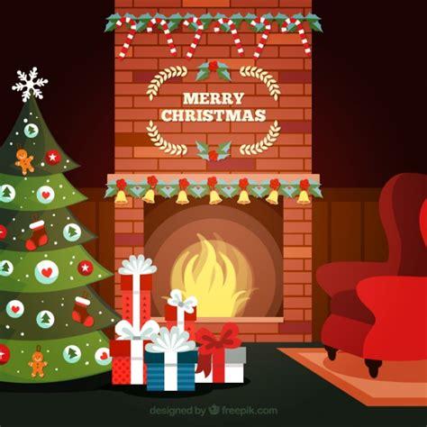 Feliz Navidad Decorations by Interior De La Habitaci 243 N Con Decoraci 243 N Navide 241 A